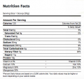 BOKU in the Buff Protein Powder nutrition label 1