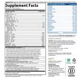 GOLROFPPVanilla Nutrition Label