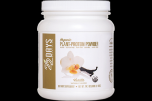 Plant Protein Powder Vanilla 22 Days Nutrition