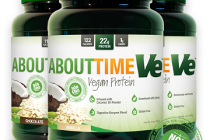 Vegan Protein Vanilla About Time Ve