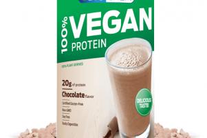 100% Vegan Protein Powder Chocolate Biochem