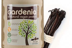 Gardenia All-Natural Vegan Protein Vanilla Bean Body Nutrition