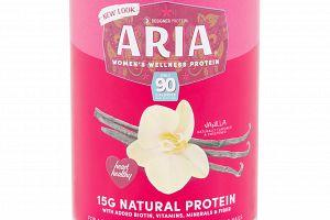 Aria Vegan Women's Wellness Protein Vanilla Designer Protein