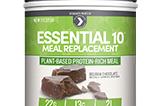 Essential 10 Meal Replacement Belgium Chocolate Designer Protein