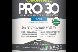Organic Pro 30 Natural Vanilla Designer Protein