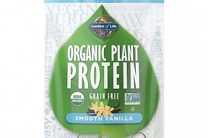 Organic Plant Protein Powder Smooth Vanilla Garden of Life