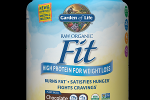 RAW Organic Fit Protein Powder Chocolate Cacao Garden of Life