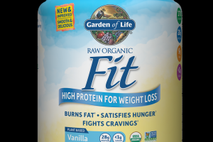 RAW Organic Fit Protein Powder Vanilla Garden of Life