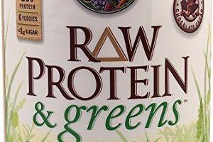 RAW Protein & greens Organic Powder Chocolate Cacao Garden of Life