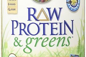RAW Protein & greens Organic Powder Vanilla Garden of Life