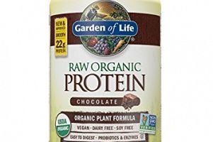 RAW Protein Organic Powder Chocolate Cacao Garden of Life