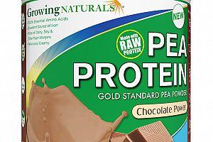 Organic Pea Protein Powder Chocolate Growing Naturals