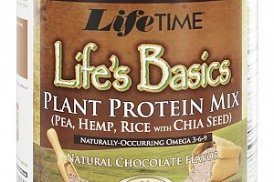 Plant Protein Chocolate Lifetime Life's Basics