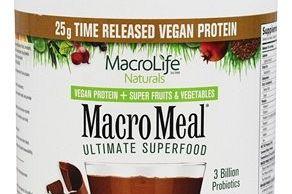 Macro Meal Vegan Chocolate MacroLife Naturals
