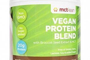 Lean Vegan Protein Blend MCT Foods