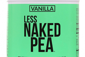 Pea Protein Powder Naked
