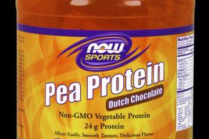 Organic Pea Protein Chocolate Now Sports