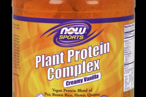 Plant Protein Complex Vanilla Now Sports