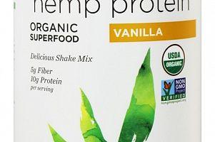 Organic Hemp Protein Shake Vanilla Nutiva