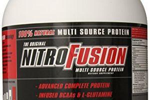 NitroFusion Vanilla NutraFusion Nutritionals