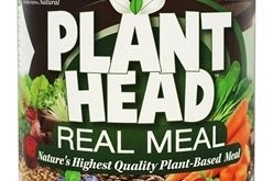 Real Meal Protein Powder Chocolate Plant Head