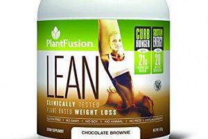 LEAN Shake Chocolate PlantFusion