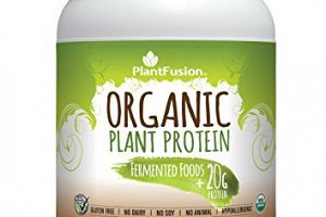 Organic Plant Protein Chocolate PlantFusion
