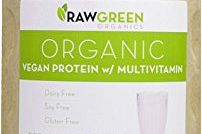 Organic Vegan Protein with Daily Multivitamin Vanilla Raw Green Organics