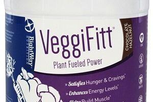 VeggiFitt Plant Fueled Power Chocolate Hazelnut Rightway Nutrition
