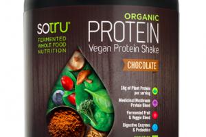 Organic Protein Vegan Protein Shake Chocolate SOTRU