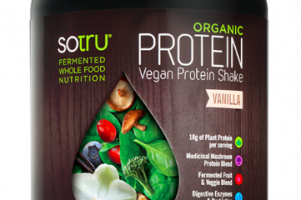 Organic Protein Vegan Protein Shake Vanilla SOTRU