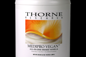 MediPro Vegan All-In-One Shake Vanilla Thorne Research