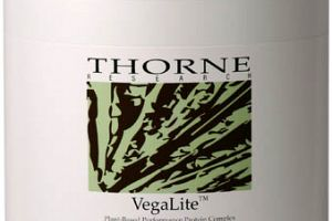 Vegalite Chocolate Thorne Research