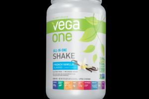 Vega One Nutritional Shake French Vanilla Vega