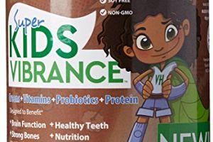 Super Kids Vibrance Cool Chocolate Vibrant Health