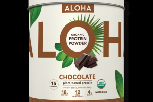 Aloha Plant-Based Superfood Protein Chocolate