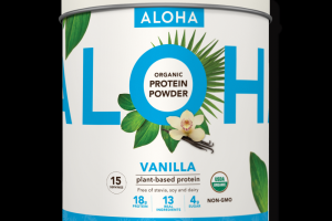 Aloha Plant-Based Superfood Protein Vanilla