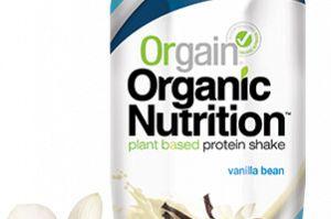 Organic Vegan Nutritional Shake Vanilla Orgain