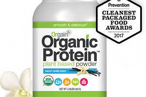 Organic Protein Plant Based Powder Vanilla Orgain