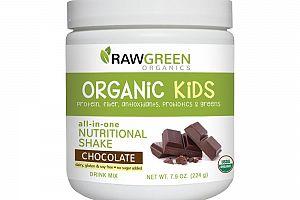 Organic Kids All-in-one Nutritional Shake Chocolate Raw Green Organics