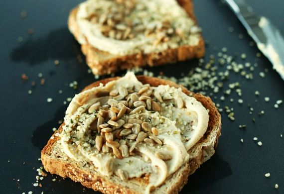 15 Vegan Protein Sources + Easy Hummus Toast