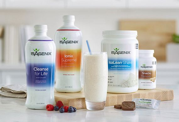 SPONSORED: Isagenix Paks + Systems