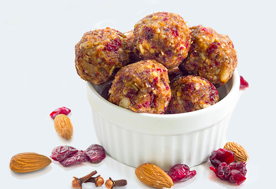 Maple Spice Protein Balls