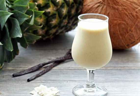 Pina Colada Protein Smoothie Recipe