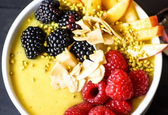 Pineapple Protein Smoothie Bowl