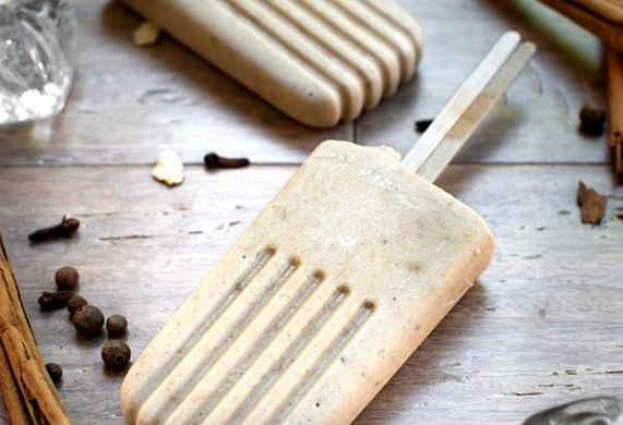 Coconut Chai Freezer Pops