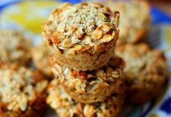 Apple Pie Vegan Protein Granola Cups