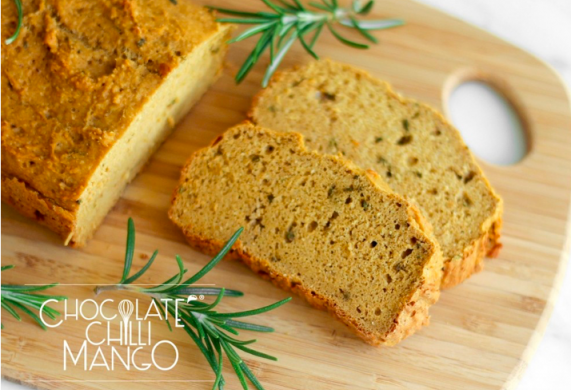 GF Sweet Potato & Rosemary Protein Bread