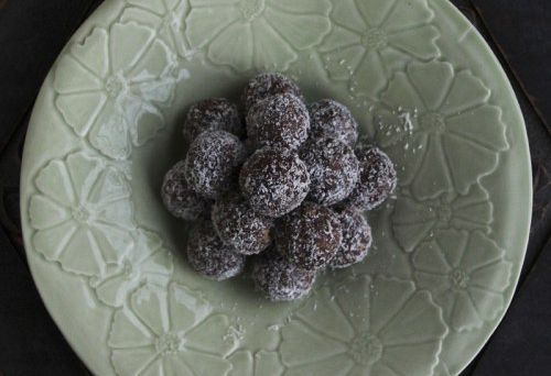 Raw Vegan Protein Balls Recipe