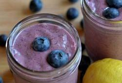 Lemon Blueberry Smoothie